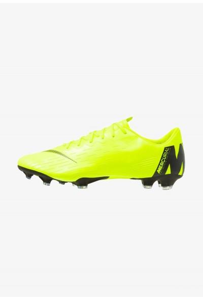 Nike MERCURIAL VAPOR 12 PRO FG - Chaussures de foot à crampons volt/black