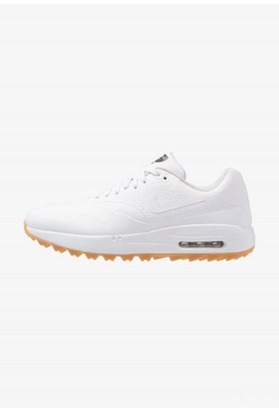 Nike AIR MAX 1 - Chaussures de golf white/light brown