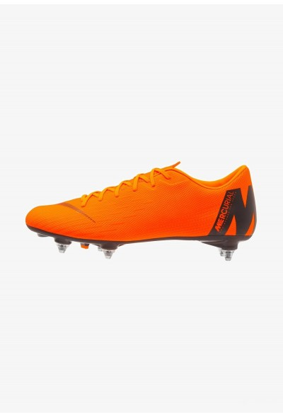 Nike MERCURIAL VAPOR 12 ACADEMY SG PRO - Chaussures de foot à lamelles total orange/white/volt