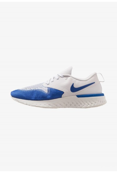 Nike ODYSSEY REACT 2 FLYKNIT - Chaussures de running neutres vast grey/game royal/platinum tint/white