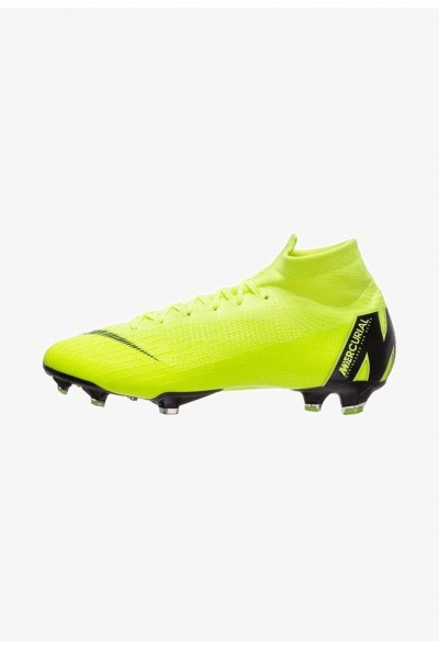Nike MERCURIAL ELITE - Chaussures de foot à crampons volt/black