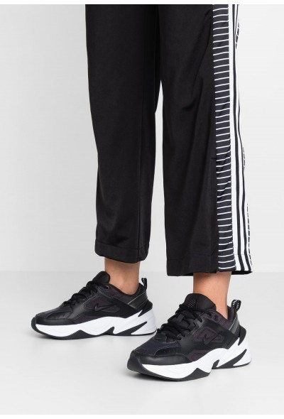 Black Friday 2019 - Nike M2K TEKNO - Baskets basses black/oil grey/white