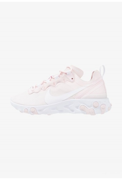 Nike REACT 55 - Baskets basses pale pink/white