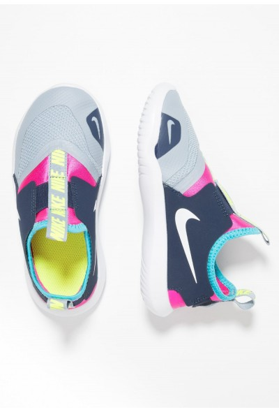 Black Friday 2019 - Nike FLEX RUNNER - Chaussures de running compétition obsidian mist/white/laser fuchsia