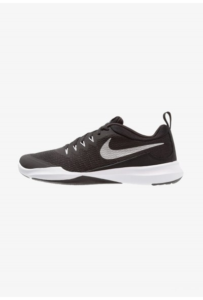 Black Friday 2019 - Nike LEGEND TRAINER - Chaussures d'entraînement et de fitness black/metallic silver/white