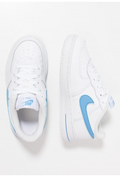 Nike FORCE 1-3 - Chaussures premiers pas white/university blue