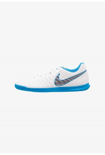 Nike TIEMPO LEGENDX 7 CLUB IC - Chaussures de foot en salle white/chrome/blue hero