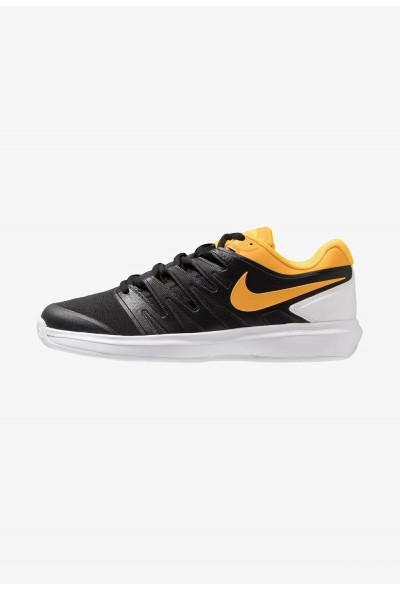 Nike AIR ZOOM PRESTIGE CLY - Chaussures de tennis sur terre battue black/universe gold/white