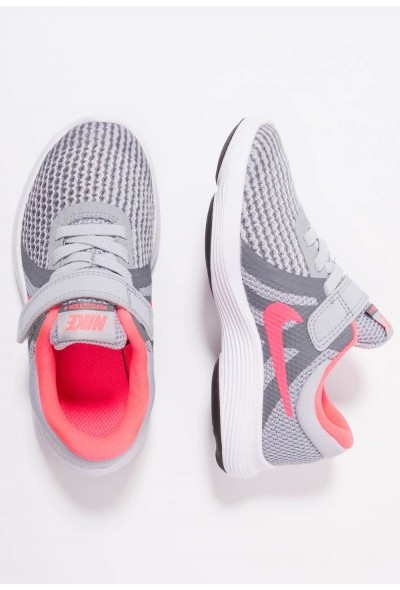 Nike REVOLUTION 4 - Chaussures de running neutres wolf grey/racer pink/cool grey/white