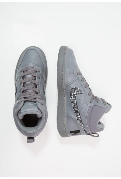 Nike COURT BOROUGH MID - Baskets montantes cool grey/black