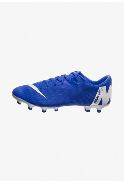 Nike MERCURIAL VAPOR 12 ACADEMY MG - Chaussures de foot à crampons blue
