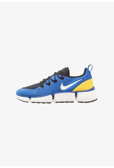 Nike POCKET FLY - Baskets basses sport royal/white/black/varsity maize/sail