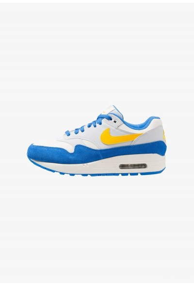 Nike AIR MAX 1 - Baskets basses sail/amarillo/pure platinum/signal blue