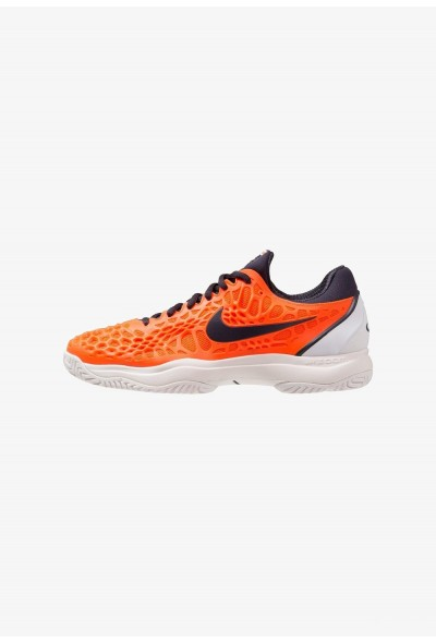 Nike AIR ZOOM CAGE 3 HC - Chaussures de tennis sur terre battue hyper crimson/gridiron/white/phantom