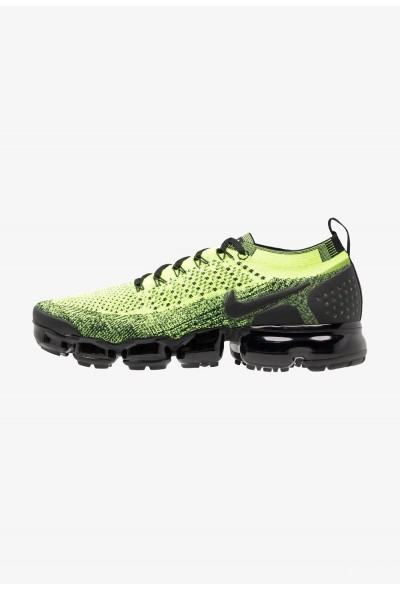 Nike AIR VAPORMAX FLYKNIT - Chaussures de running neutres volt/black