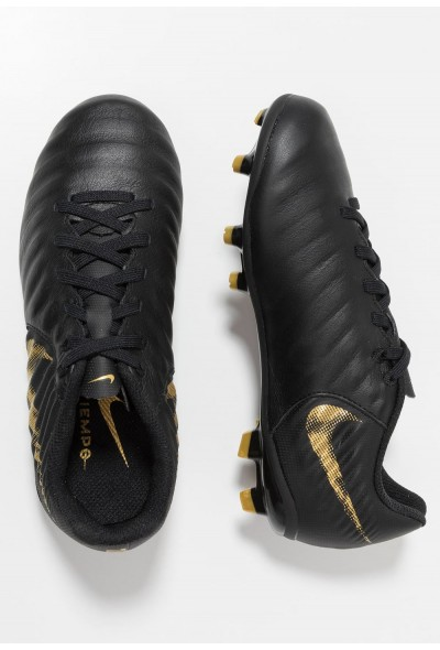 Nike TIEMPO LEGEND 7 ACADEMY MG - Chaussures de foot à crampons black/metallic vivid gold