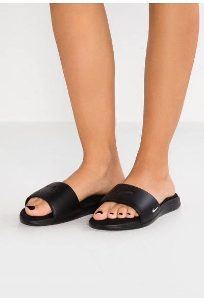 Nike ULTRA COMFORT3 SLIDE - Mules black/white