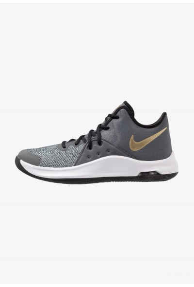 Nike AIR VERSITILE III - Chaussures de basket black/metallic gold/dark grey/white