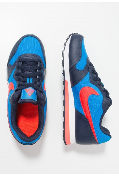 Nike MD RUNNER 2 - Baskets basses photo blue/bright crimson/obsidian/white