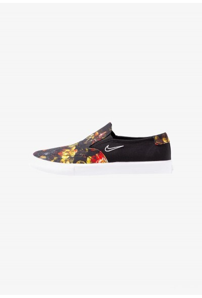 Nike PORTMORE - Mocassins black/white/multicolor