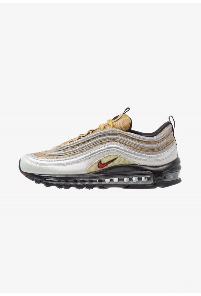 Nike AIR MAX 97 SSL - Baskets basses metallic silver/university red