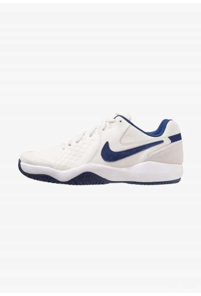 Black Friday 2019 - Nike AIR ZOOM RESISTANCE - Chaussures de tennis sur terre battue phantom/blue void/sail/orange blaze