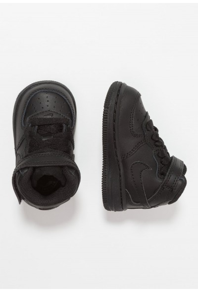 Nike NIKE FORCE 1 MID (TD) - Baskets montantes black