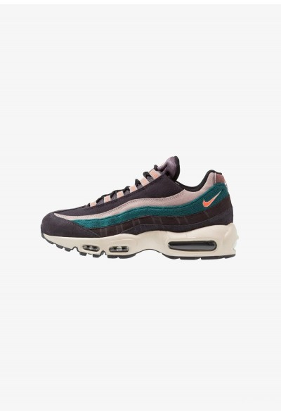 Nike AIR MAX 95 PRM - Baskets basses oil grey/bright mango/thunder grey/rainforest/diffused taupe/smokey mauve
