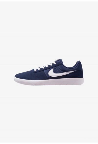 Nike TEAM CLASSIC - Baskets basses midnight navy/white