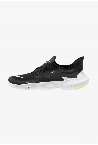 Nike FREE RN 5.0 - Chaussures de course neutres black/white/anthracite/volt