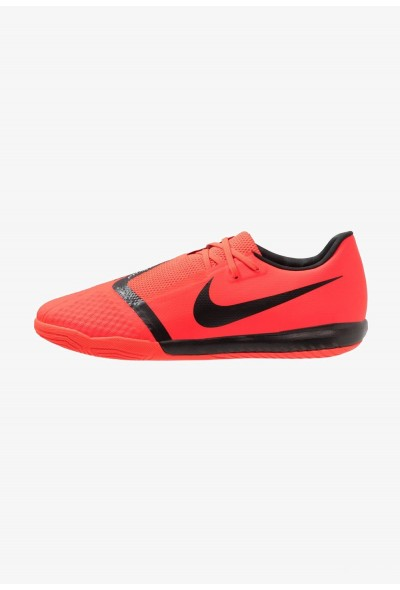 Nike PHANTOM ACADEMY IC - Chaussures de foot en salle bright crimson/black/metallic silver