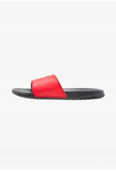 Nike BENASSI JDI - Sandales de bain anthracite/university red