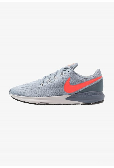 Nike AIR ZOOM STRUCTURE  - Chaussures de running stables obsidian mist/bright crimson/armory blue