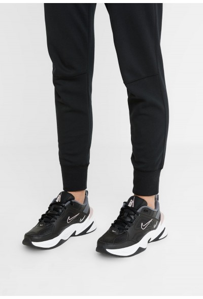 Black Friday 2019 - Nike M2K TEKNO - Baskets basses black/plum chalk/dark grey/summit white