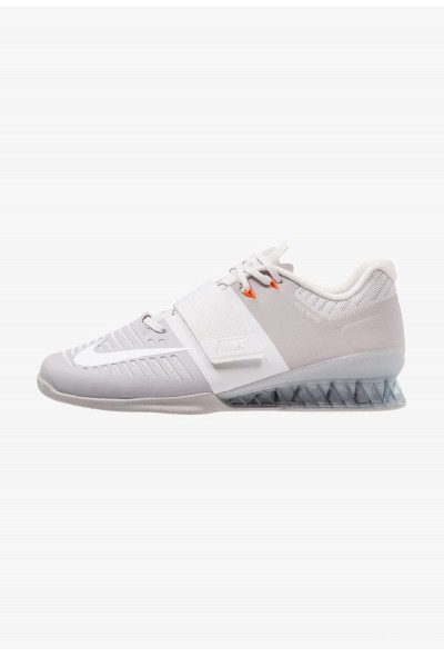 Nike ROMALEOS 3 - Chaussures d'entraînement et de fitness atmosphere grey/white/vast grey/hyper crimson