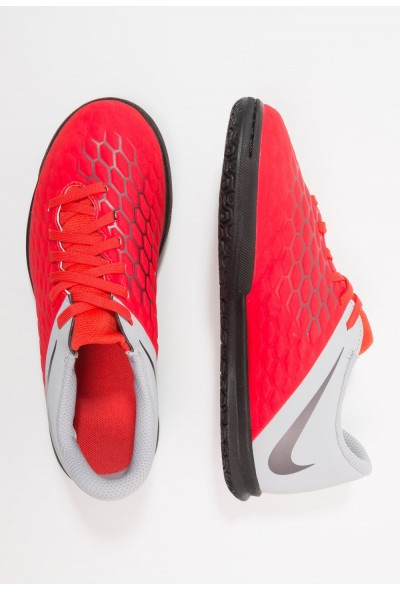 Nike PHANTOMX 3 CLUB IC - Chaussures de foot en salle light crimson/metallic dark grey/wolf grey