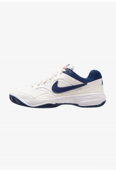 Nike COURT LITE CLAY - Chaussures de tennis sur terre battue phantom/blue void/sail/black