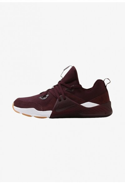 Nike ZOOM TRAIN COMMAND - Chaussures d'entraînement et de fitness deep burgundy/white/gum med brown