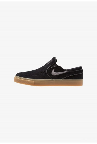 Nike ZOOM STEFAN JANOSKI - Mocassins black/gunsmoke/light brown