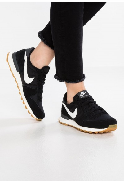 Nike INTERNATIONALIST - Baskets basses black/summit white/anthracite/sail