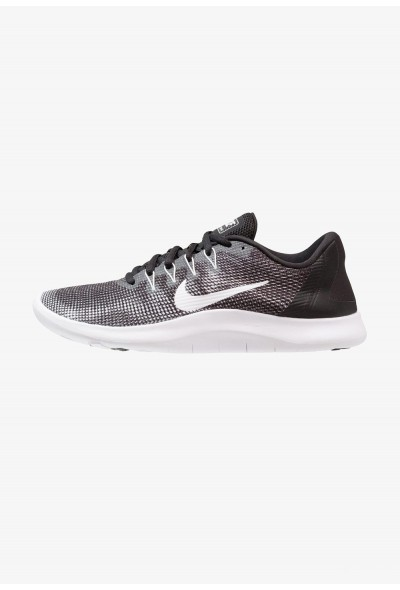 Nike FLEX 2018 RUN - Chaussures de course neutres black/white