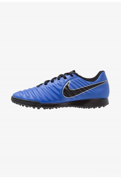 Nike LEGENDX 7 ACADEMY TF - Chaussures de foot multicrampons racer blue/black/metallic silver