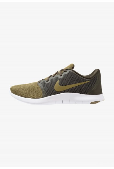 Nike FLEX CONTACT 2 - Chaussures de running compétition sequoia/olive flak/hyper crimson
