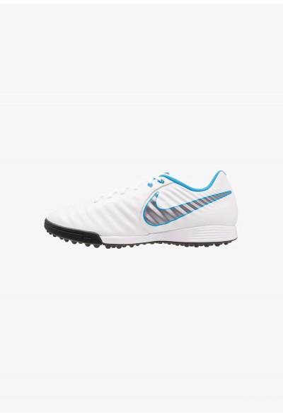 Nike LEGENDX 7 ACADEMY TF - Chaussures de foot multicrampons white/chrome/blue hero
