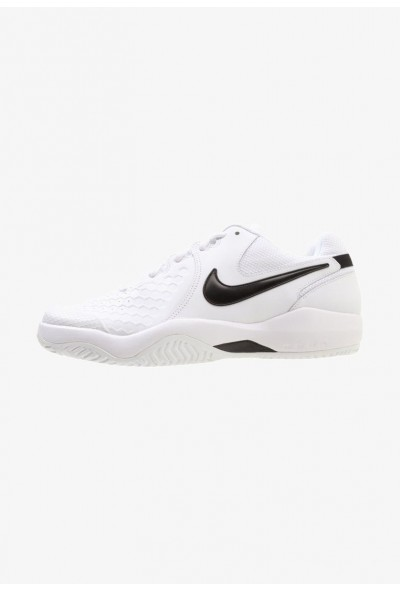 Black Friday 2019 - Nike AIR ZOOM RESISTANCE - Chaussures de tennis sur terre battue white/black