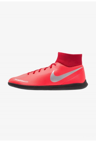 Nike PHANTOM OBRAX 3 CLUB DF IC - Chaussures de foot en salle bright crimson/metallic silver/universal red/black