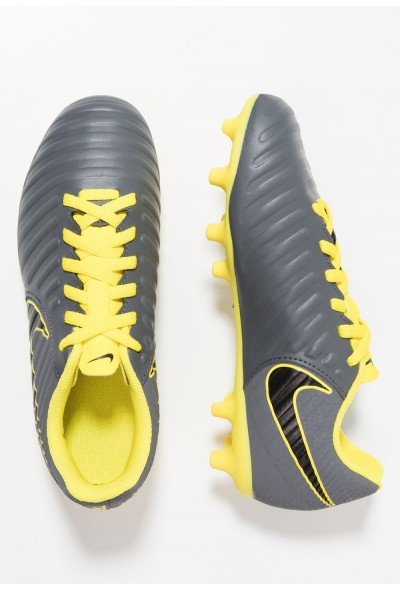 Nike TIEMPO LEGEND 7 CLUB MG - Chaussures de foot à crampons dark grey/opti yellow/black