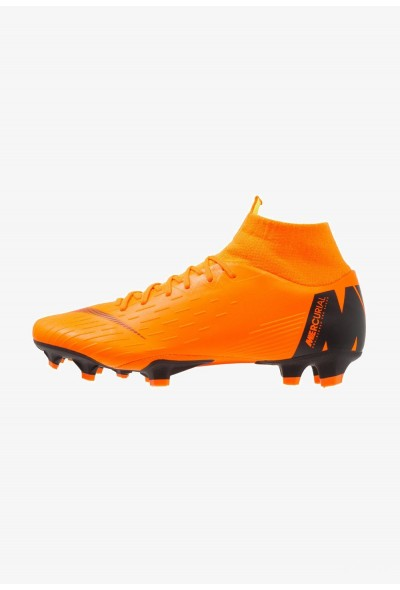 Nike MERCURIAL 6 PRO FG - Chaussures de foot à crampons total orange/white/volt