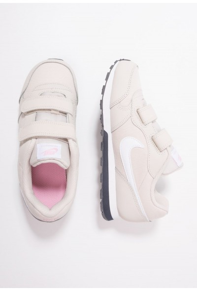 Nike MD RUNNER 2 - Baskets basses desert sand/white/pink/gridiron