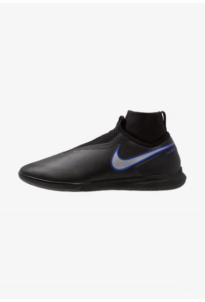 Nike PHANTOM REACT OBRA PRO IC - Chaussures de foot en salle black/metallic silver/racer blue